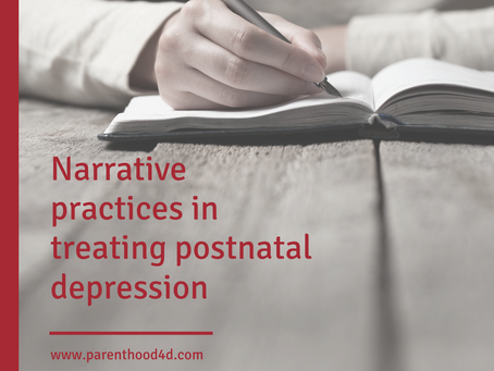 Narrative practices in treating postnatal depression
