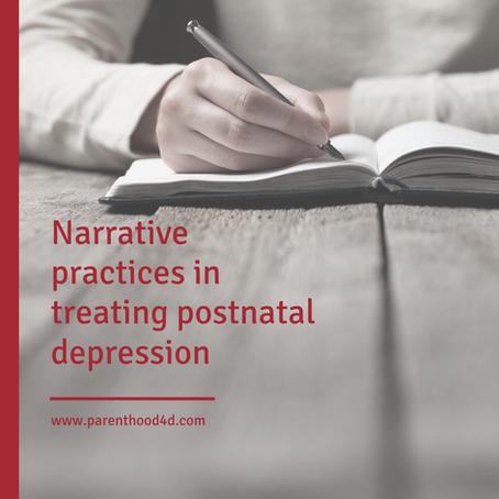 Narrative practices in treating postnatal depression