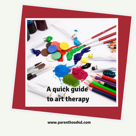 A quick guide for art therapy