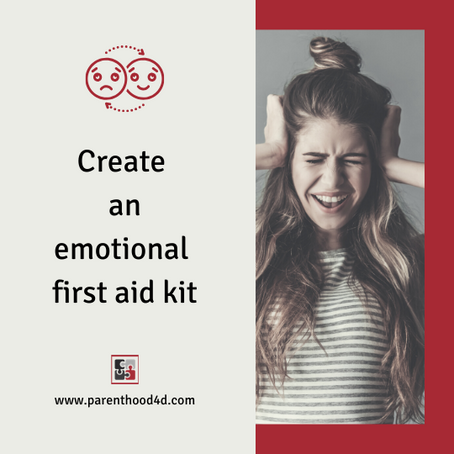 Create an emotional first aid kit