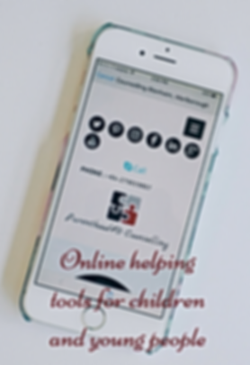Online mental health help for children and young people