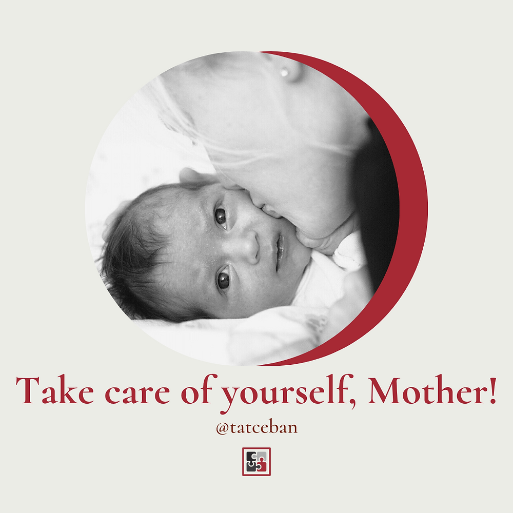 Self-care is fundamental in motherhood.