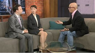 Ken on CP24 with Stephen LeDrew