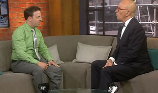 Ken speaking with Stephen LeDrew on CP24
