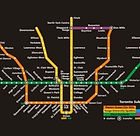 TTC Subway map showing Downtown Relief Line