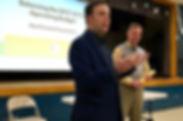 Ken hosting a budget ward forum