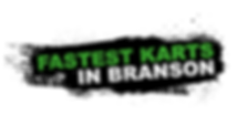 Fastest Karts in Branson green and black logo