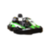 High speed xtreme kart at Xtreme Racing Center in Pigeon Forge