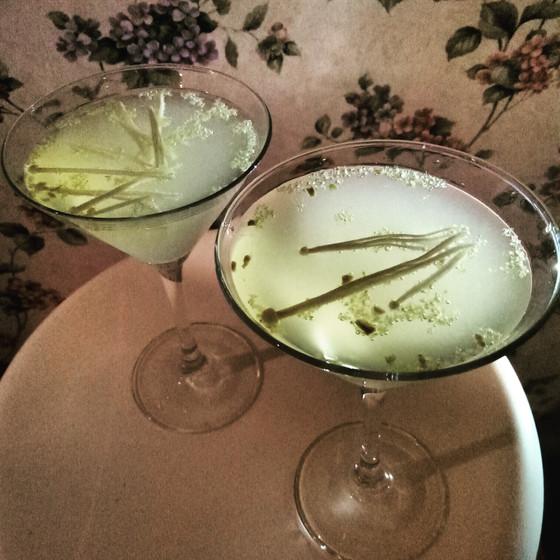 Jade Enoki Cocktail