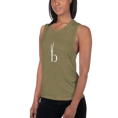 Bamboo Barre Ladies' Muscle Tank