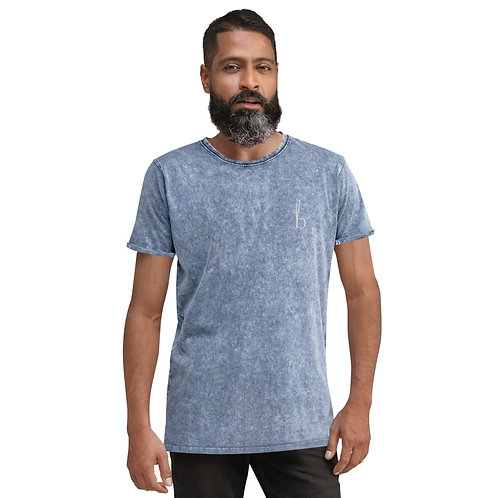 Bamboo Barre Denim T-Shirt