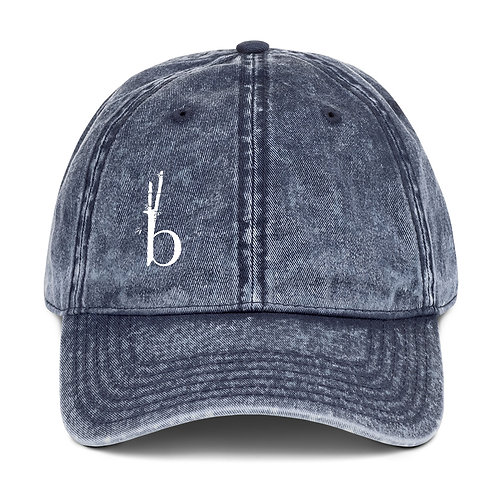 Bamboo BarreVintage Cotton Twill Cap