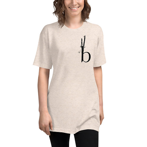 Bamboo Barre Unisex Tri-Blend Track Shirt