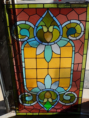 Early 1900s Stained Glass Window