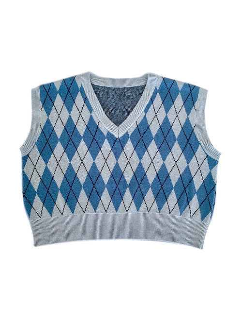 BLU Sweater Vest (PRE-ORDER)