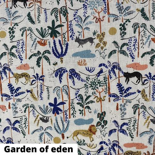 Coupon tissu bio Garden of eden Cloud9