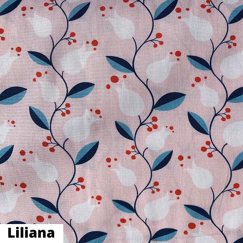 Coupon tissu bio Liliana Monaluna