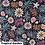 Thumbnail: Coupon tissu bio Floral Flight Cloud9