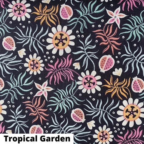 Coupon tissu bio Tropical Garden Cloud9