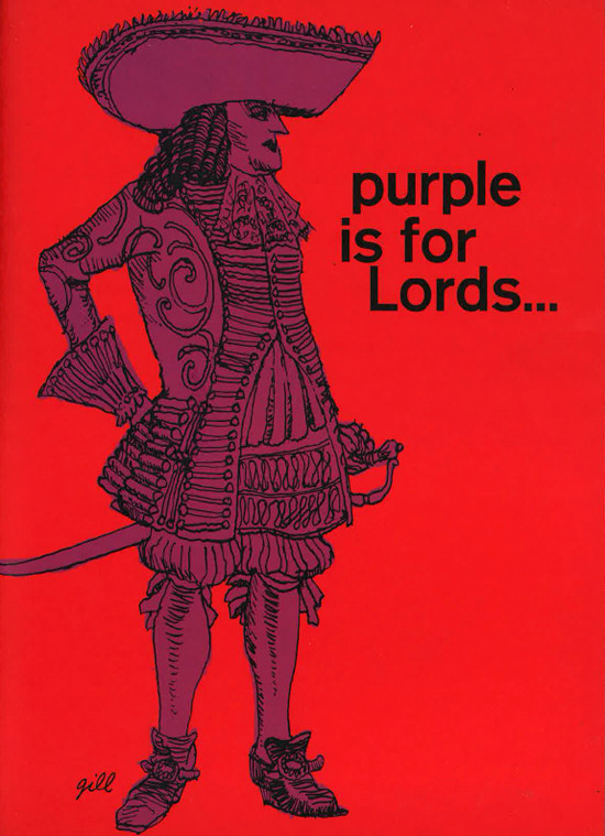 purple is for lords