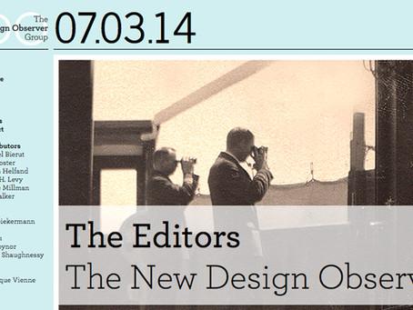 07/03/2014: Design Observer site redesign