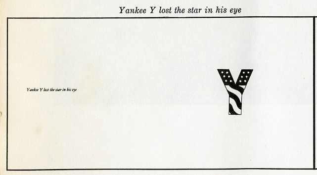 "yankee ""Y"" lost the star in his eye"