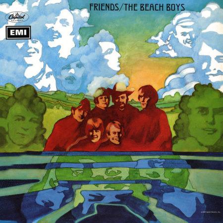 album art beach boys Friends