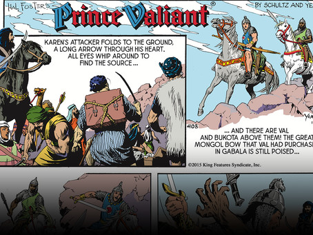 Prince Valiant's Story, As Told by Mark Schultz