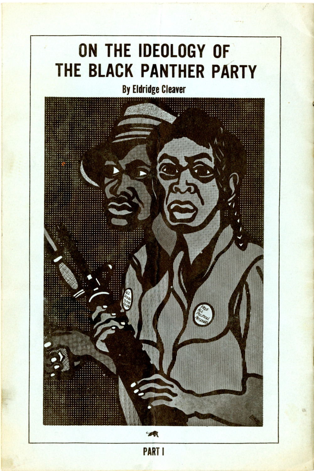 On the ideology of the black panther party