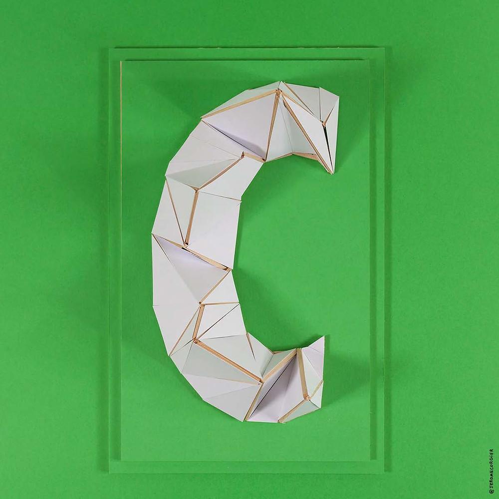 """Jerome Corgier """"ArchiLetters"""" - C"""