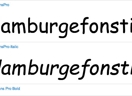 Today's Obsession: Comic Sans Pro