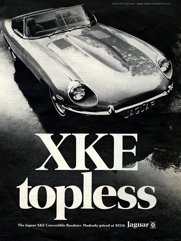 1969 E-Type Series II Ad.