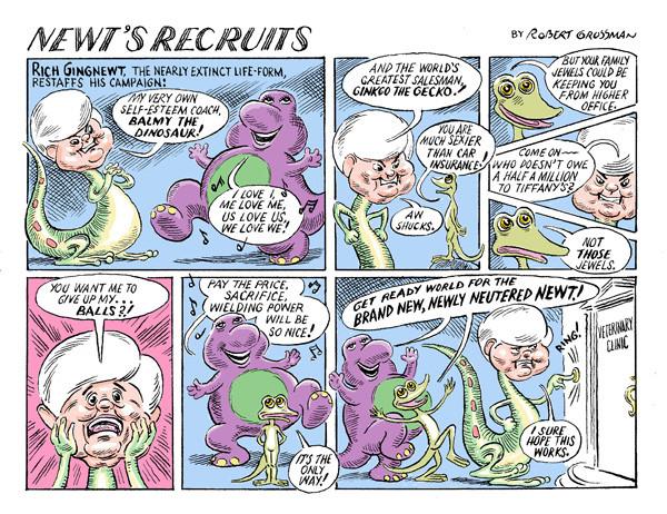 Newt's Recruits
