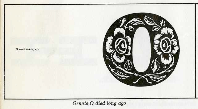 """oriented """"O"""" died long ago"""