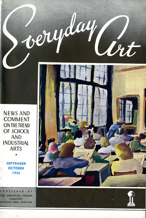 Everyday Art: News and Comment on the Trend of School and Industrial Arts