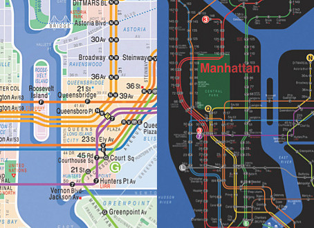 Today's Obsession: Design Process of an NYC Subway Map