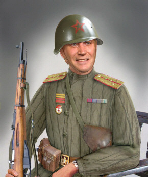 Man in aramy uniform