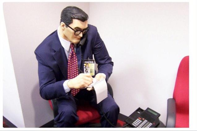 Press man on the phone