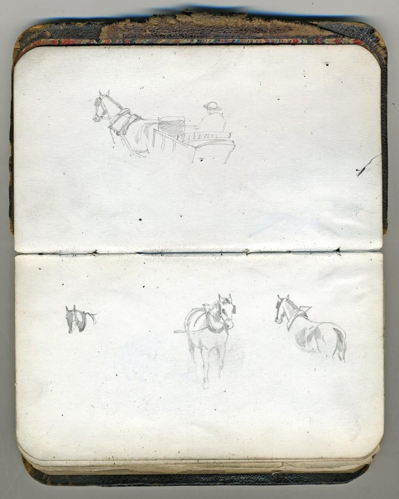 W.G. Read sketchbook