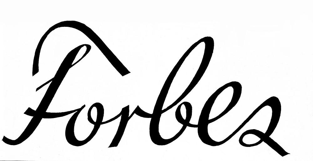 forbes magazine logo design