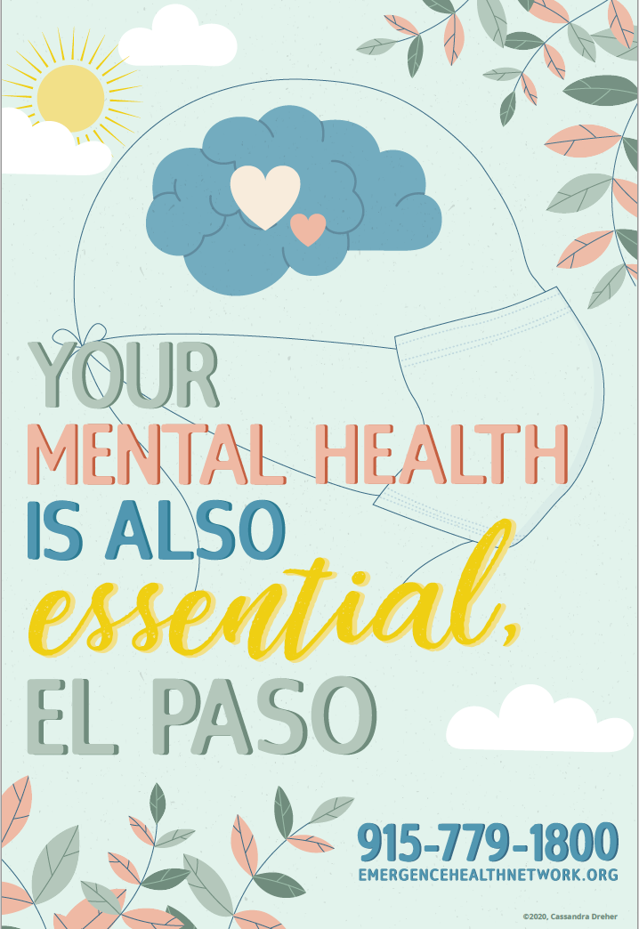 YOUR mental health is also essential EL paso