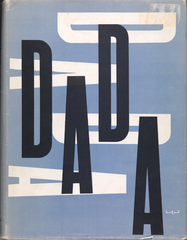 "1967, book jacket, ""The Dada Painters and Poets"" by Robert Motherwell"