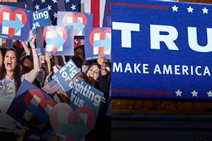 Trump vs. Clinton: A Designer's Perspective on 2016 Election Logos