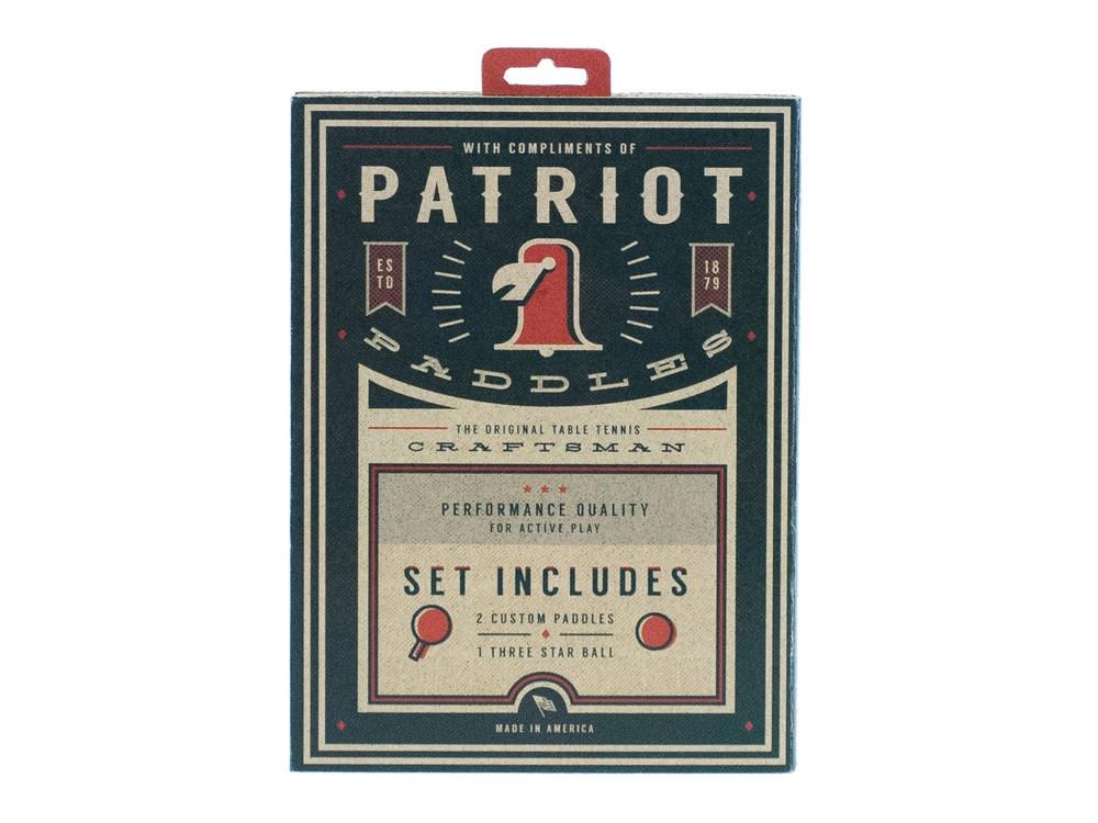 Student Designs - Patriot Paddles
