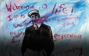 The Visual Art of Poet Lawrence Ferlinghetti