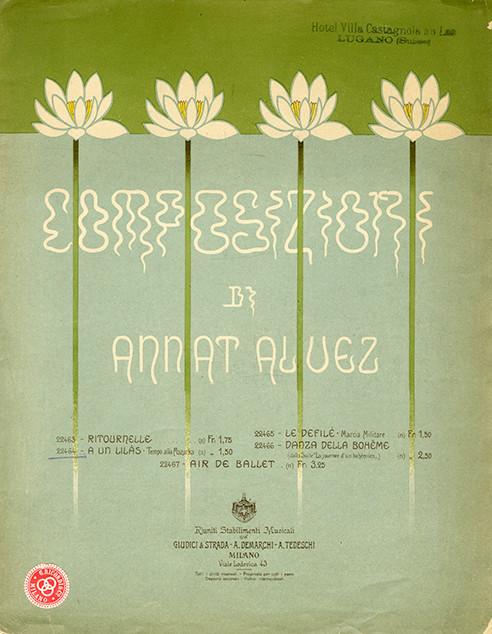 Italian music; art nouveau music