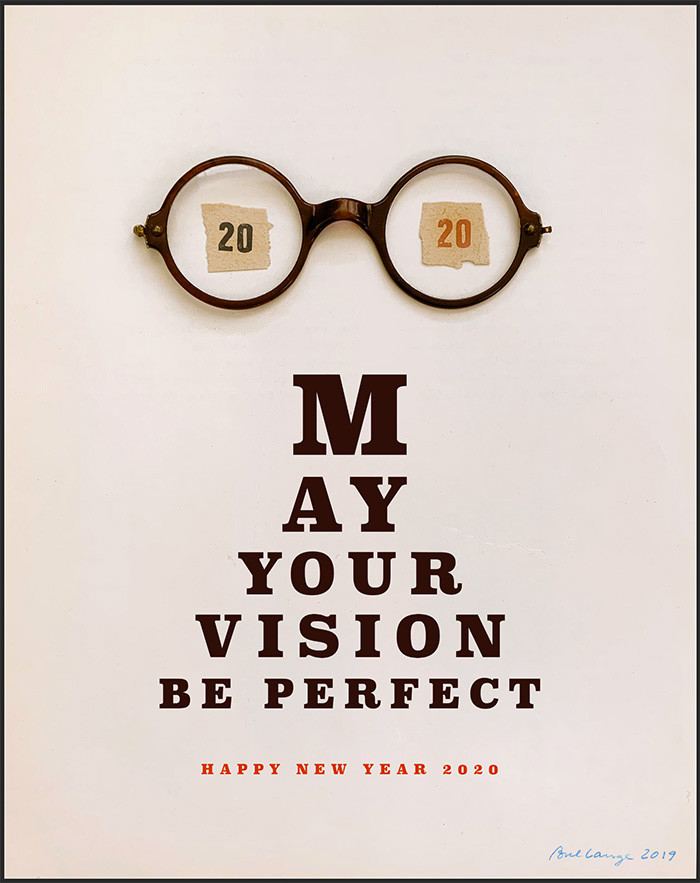 May your vision be perfect
