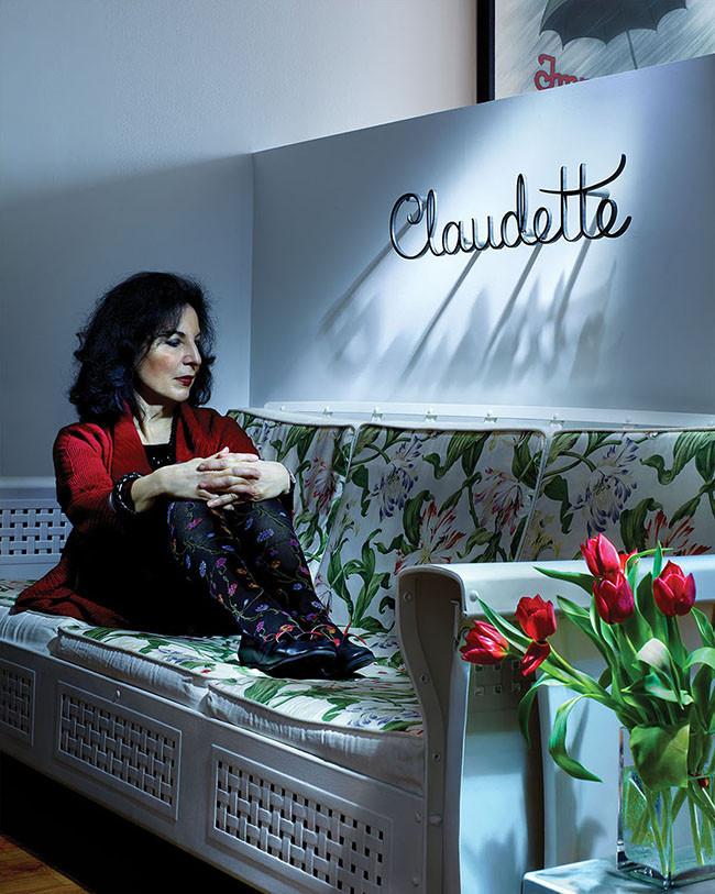 Louise Fili, designer, type designer, author.