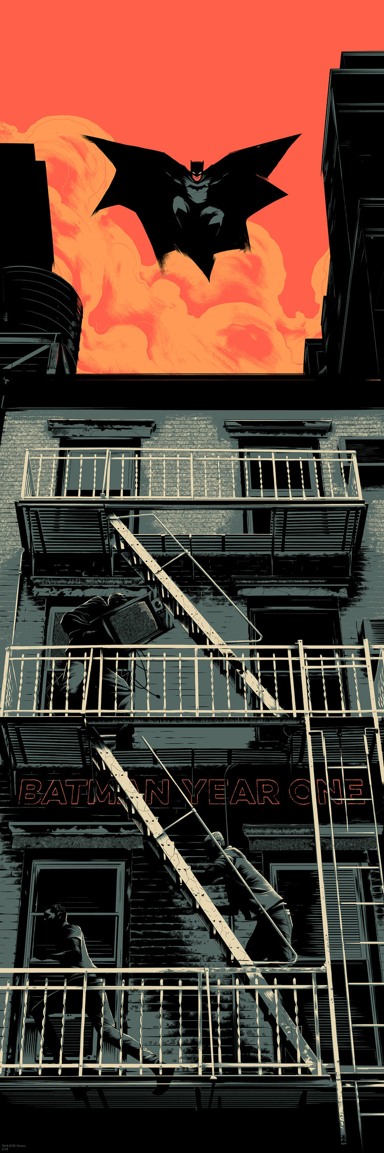 'Batman 75' by Matt Taylor for Mondo