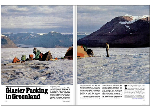 Glacier Packing in Greenland